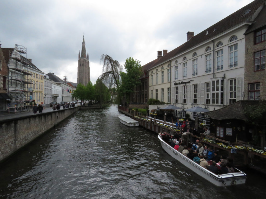 Bruges is such a beautiful city.