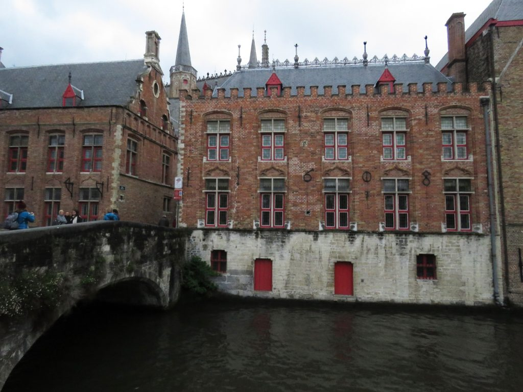 Exploring parts of Bruges that we missed on our last visit.