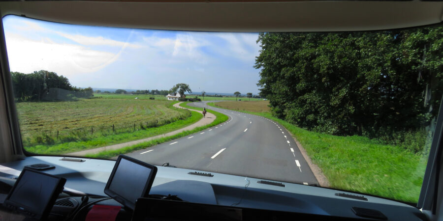 Our journey to Mölle.