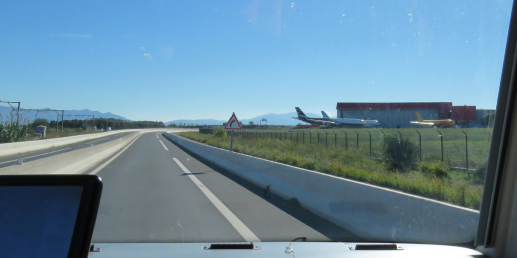 I wasn't expecting to see aeroplanes.