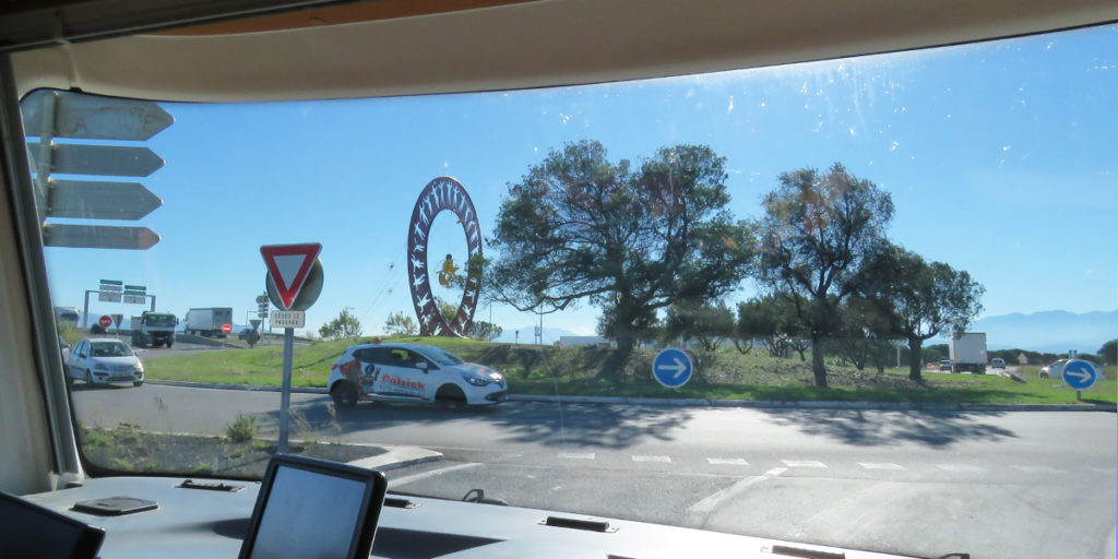 We've seen some interesting decorated roundabouts