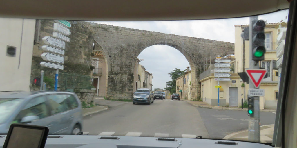 Via duct at Castries