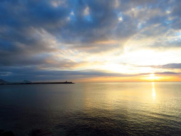 View across the bay towards Altea.