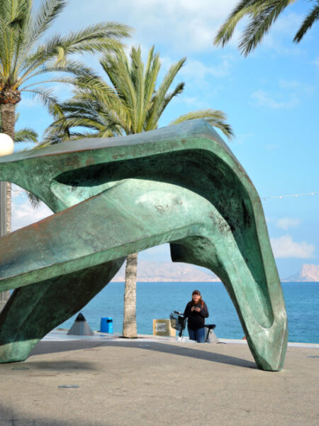 Interesting sculpture.