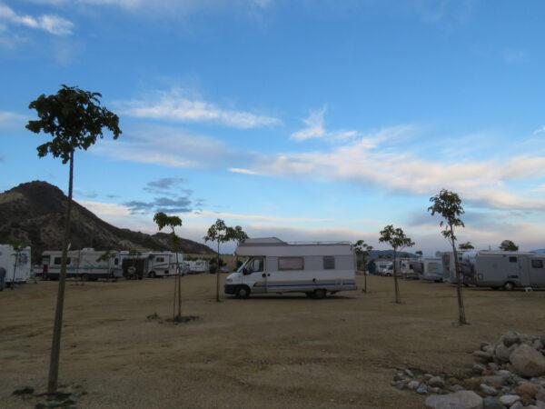 Campsite at Vera