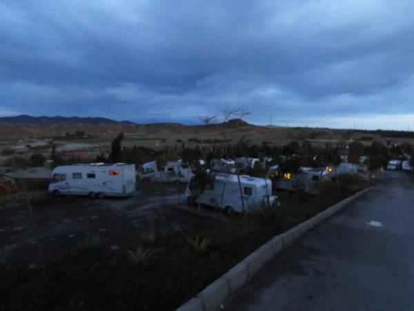 Part of the campsite.