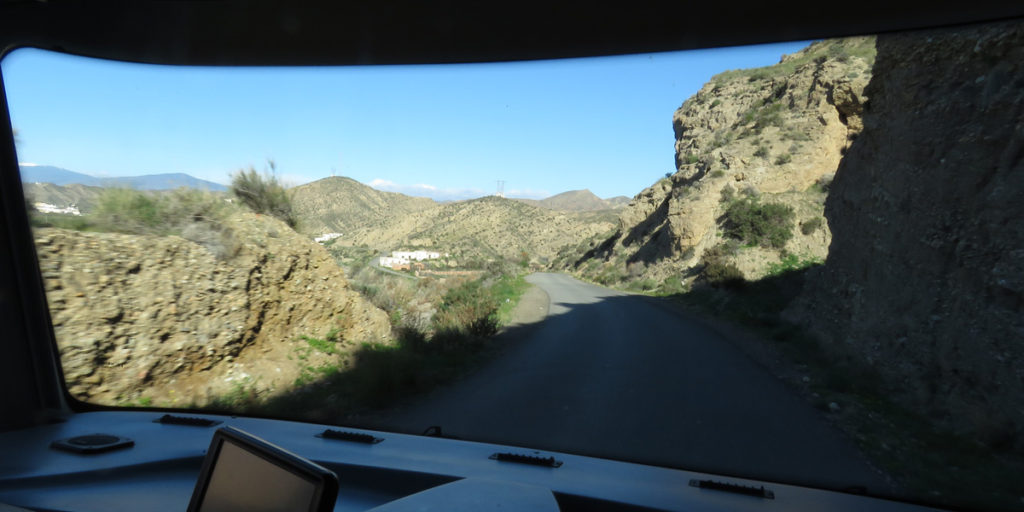 07e Wrong road to Los Millares