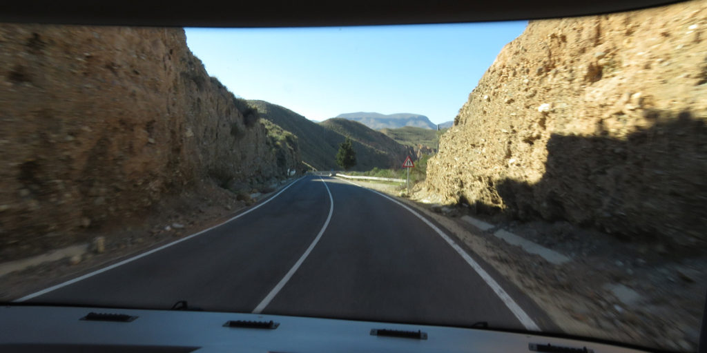 09d Right road to Los Millares