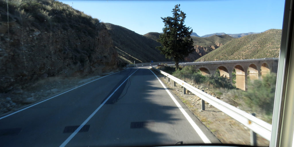09e Right road to Los Millares