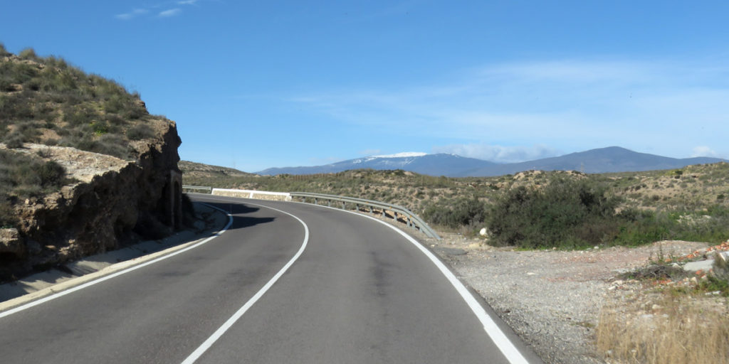 09f Right road to Los Millares