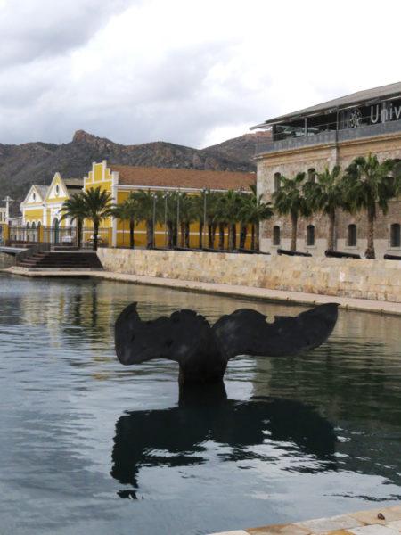 Whale Tail by Fernando Saenz de Elorrieta, Cartagena, Spain