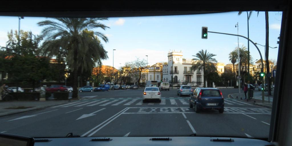 22 Arriving Seville
