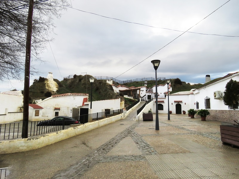 22 Cave village