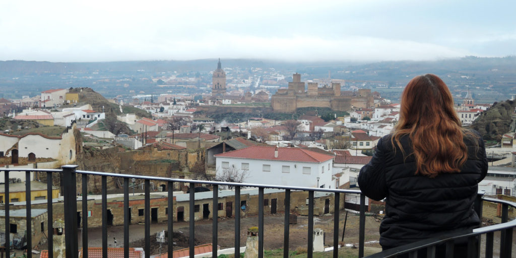 27 View to Guadix
