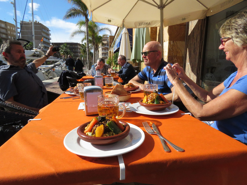 33 meal Mazarron harbour