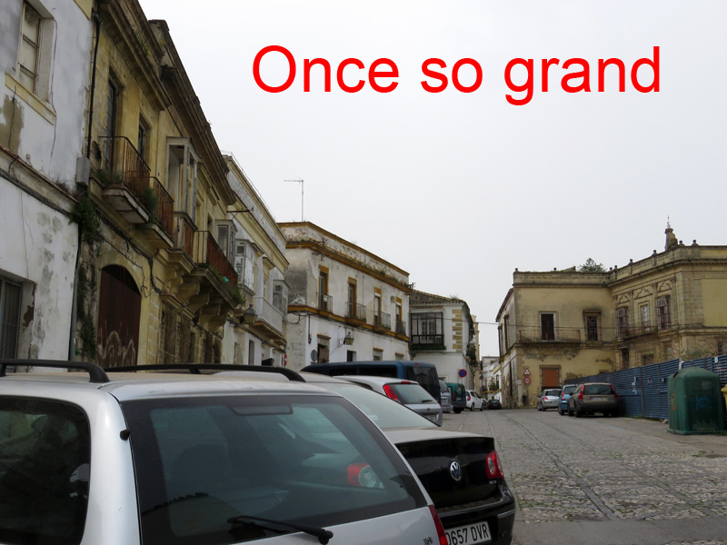 It's so sad that such a grand area has fallen into disrepair.