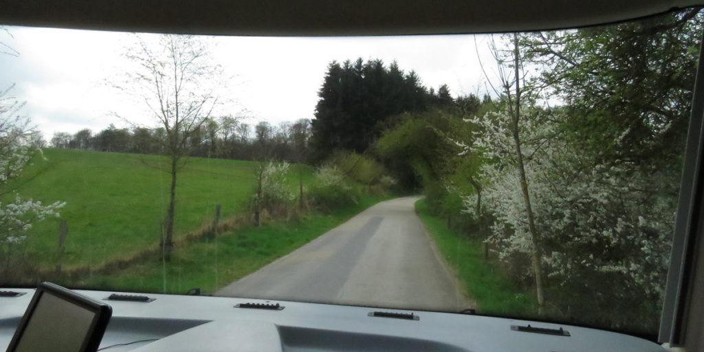Leaving St Hubert