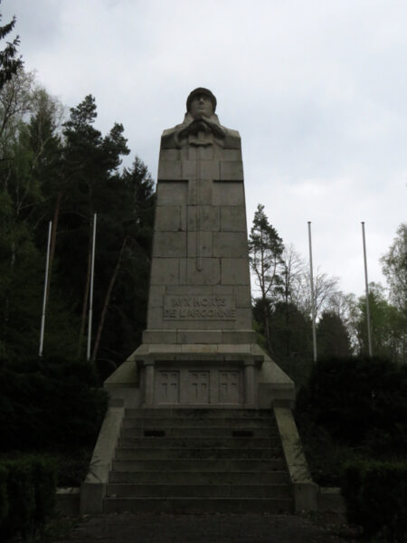 Memorial to all the people who died here during WWI.