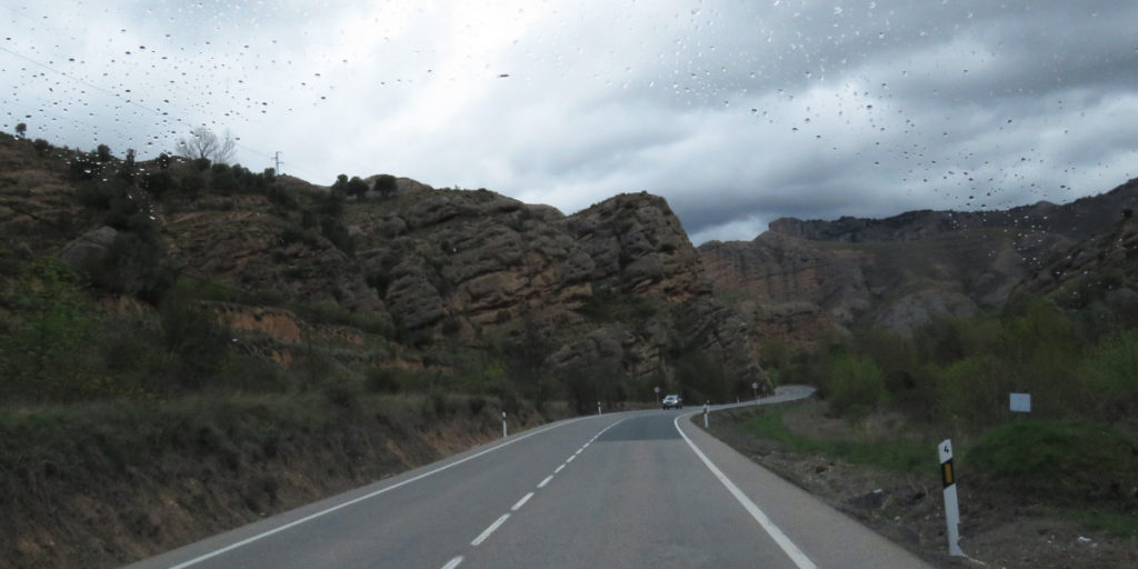 And roads winding around them, such varied landscapes.