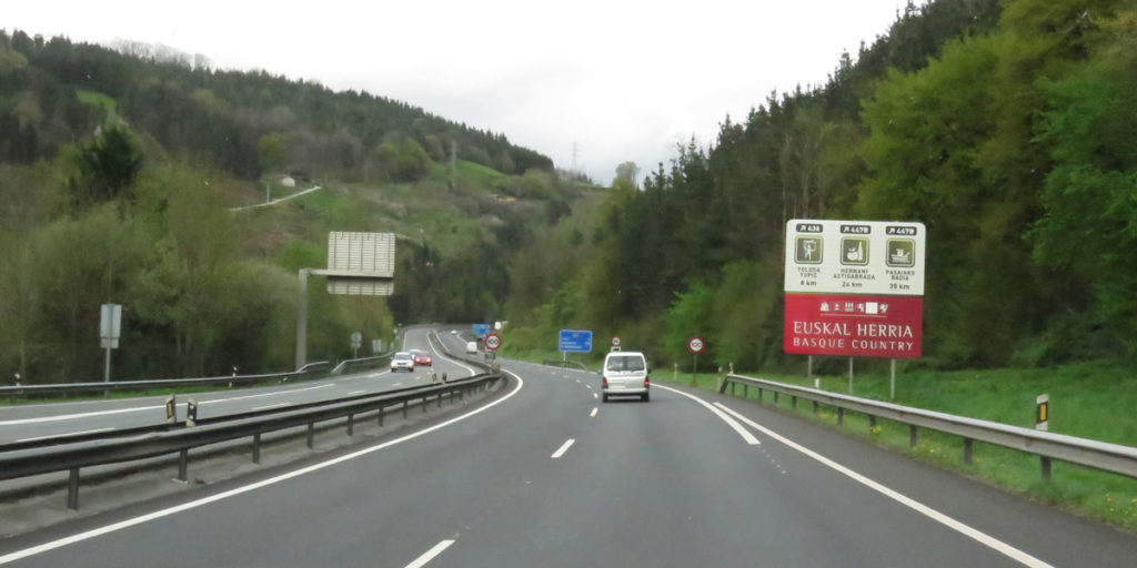 We're entering Basque Country.
