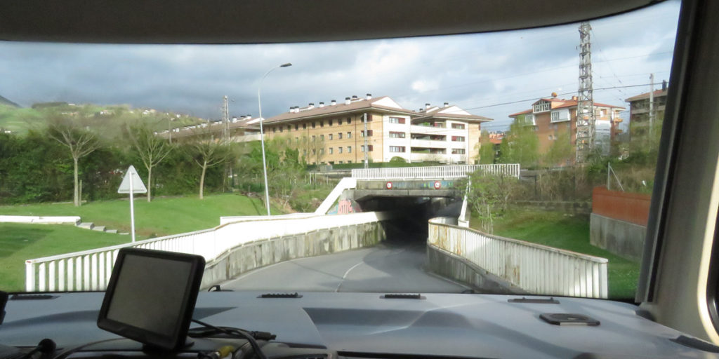 Looking for the area to stopover in Tolosa