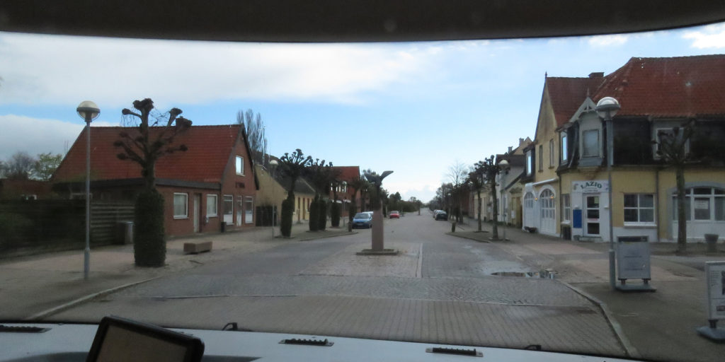 Driving through Rodby