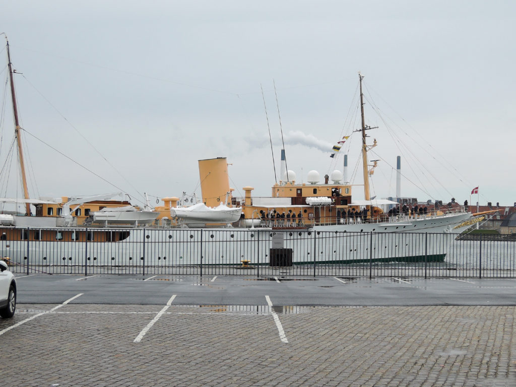 A yacht belonging to the Danish Royal family.