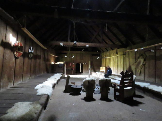 Inside the Longhouse.