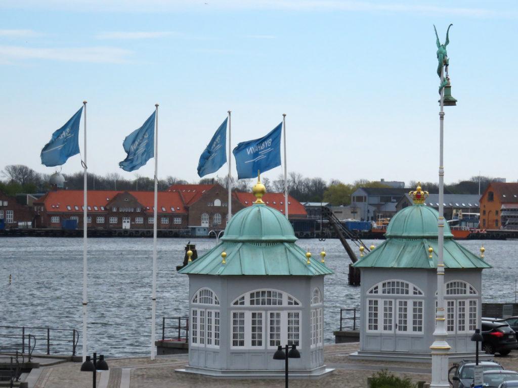 Royal pavilions.