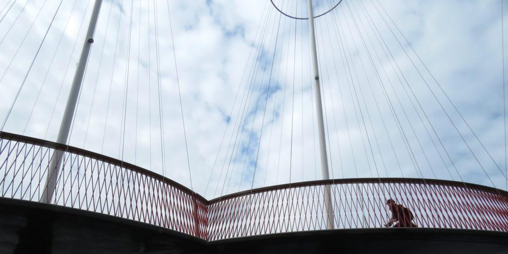 Eye catching bridge.