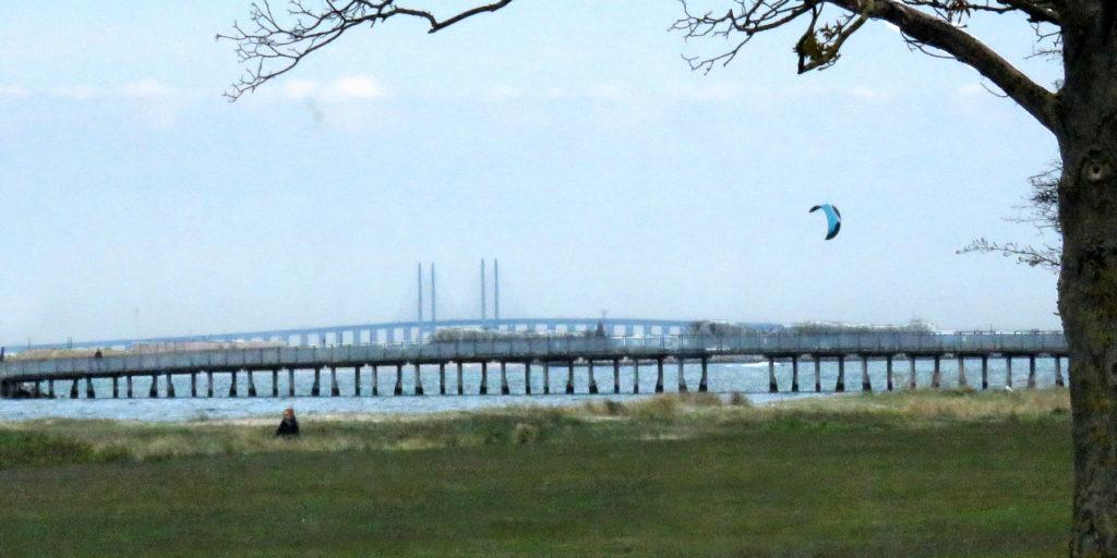 The bridge to Sweden.