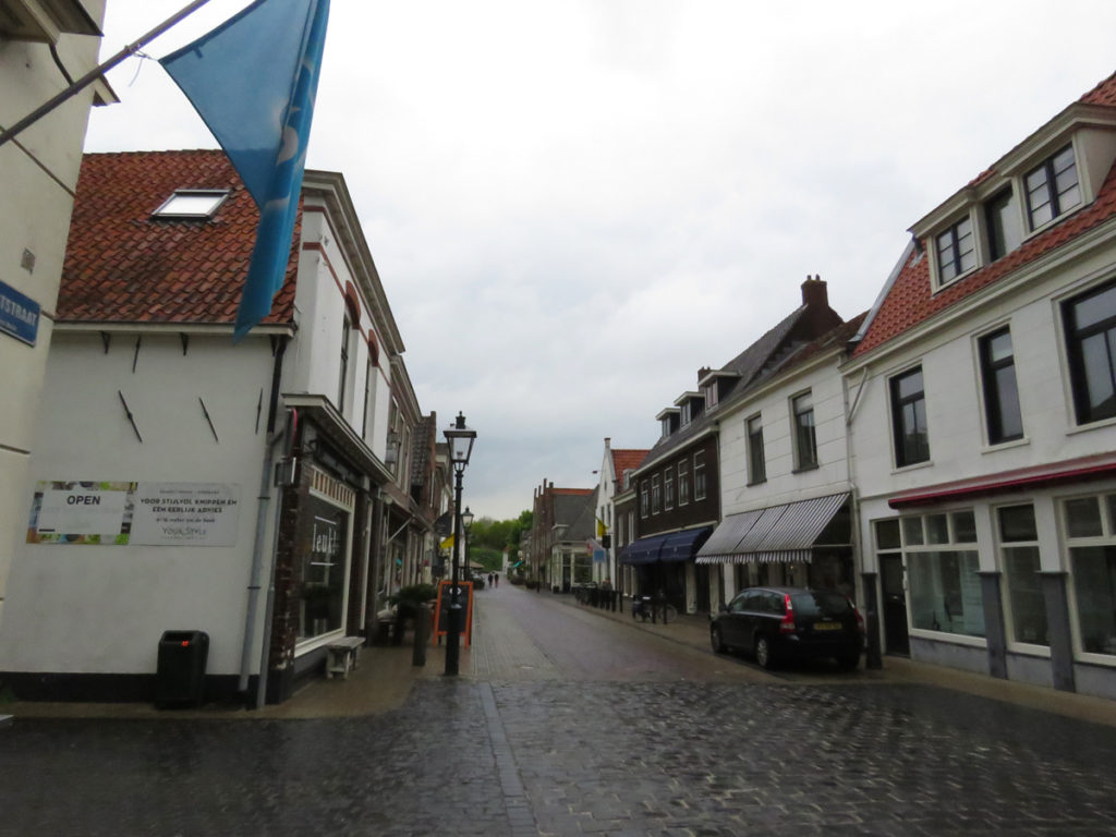 Rainy day in Naarden.