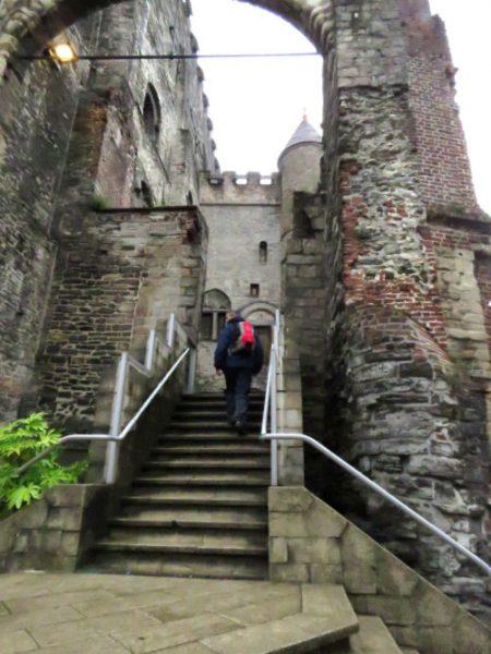Exploring Gravensteen castle, Ghent