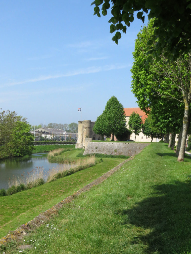 City wall from the opposite direction