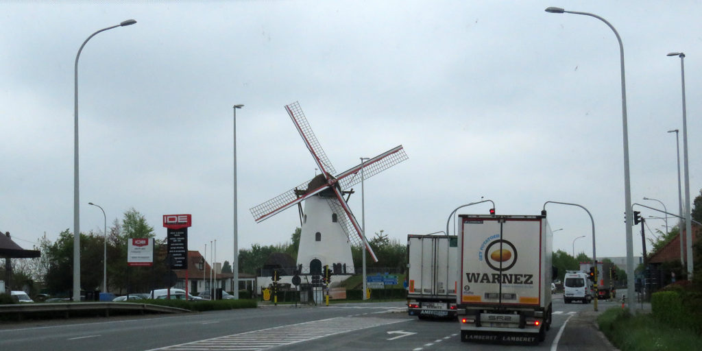 What a well preserved windmill.