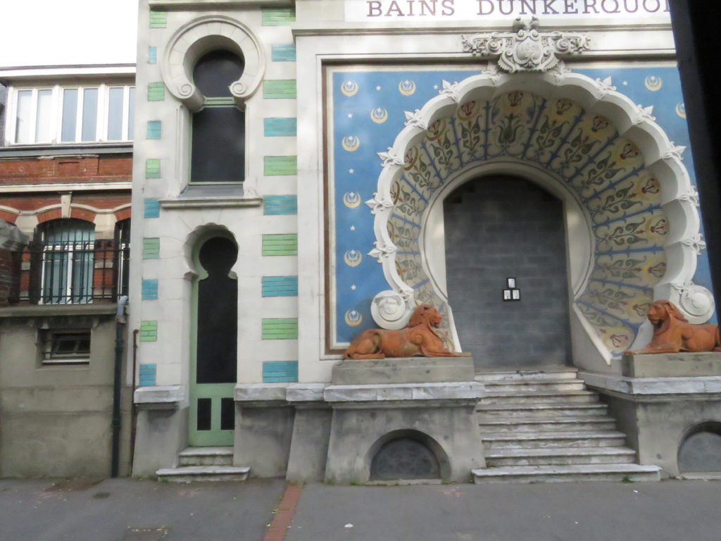 We spotted some exotic looking buildings in Dunkirk.