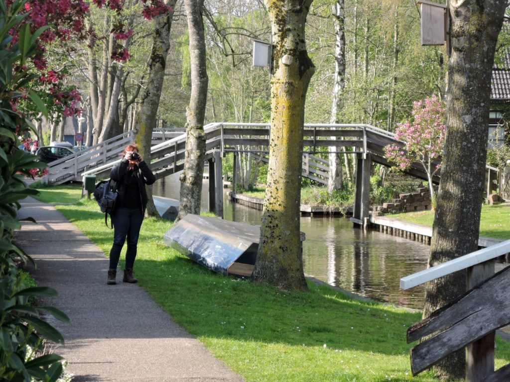 A quiet area in Giethoorn.