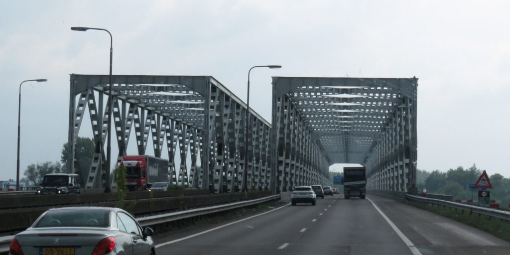 These bridges look like they've been made from a giant mechano set, it must be a great job building them.