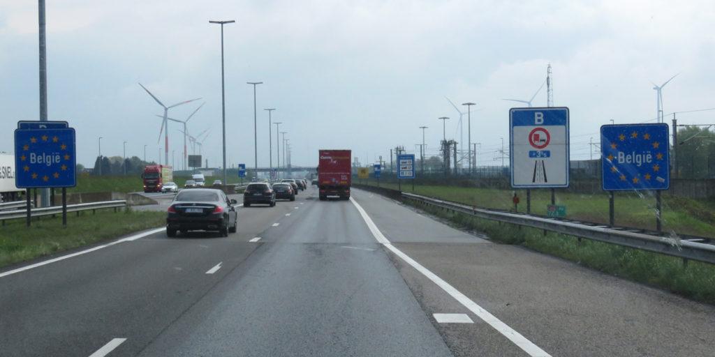 Back in Belgium.