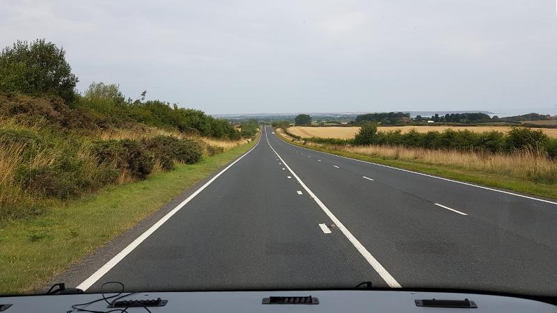 Heading towards the moors.