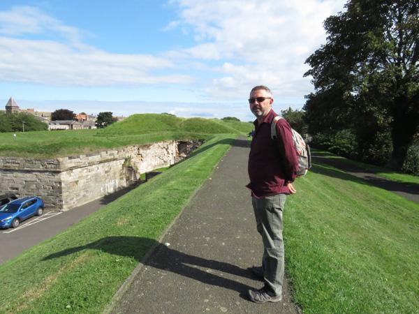 We had no idea Berwick upon Tweed was a mediaeval fortification.