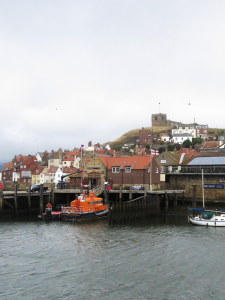 The lifeboat at Whitby.