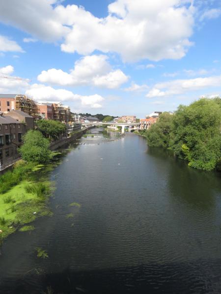Walking into Durham