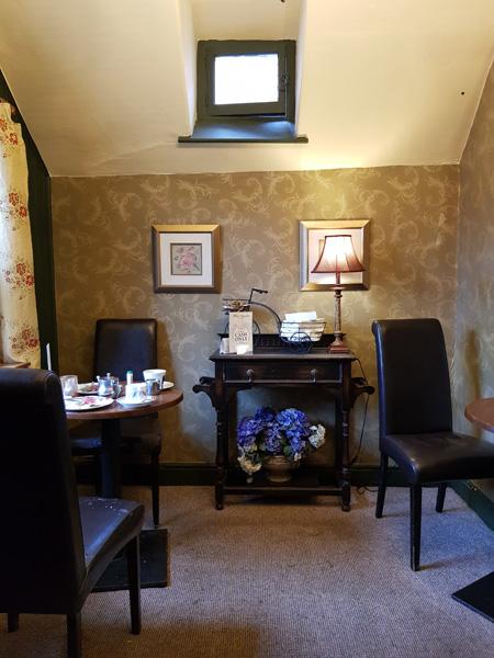 Olde Worlde tea room in Whitby.
