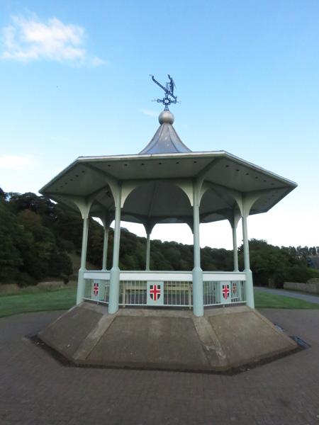 Pretty bandstand.