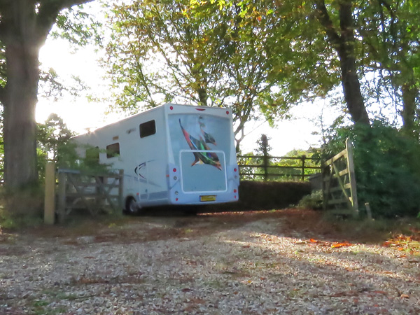 Bon voyage.  We're very sad to see our beautiful motorhome going.